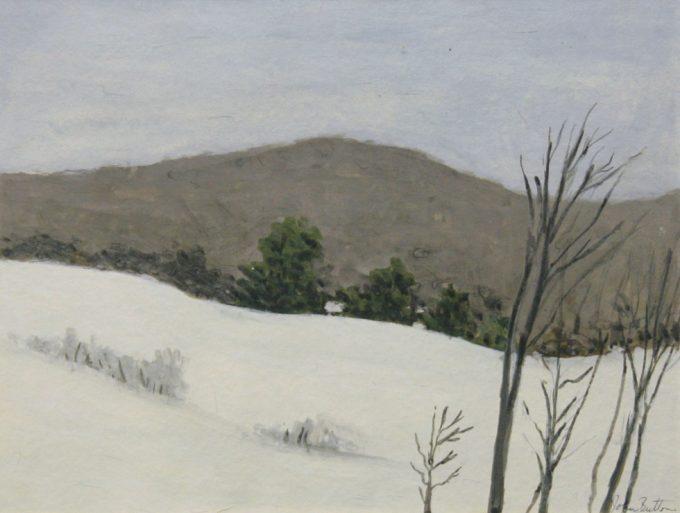 John Button, Winter, Upstate New York