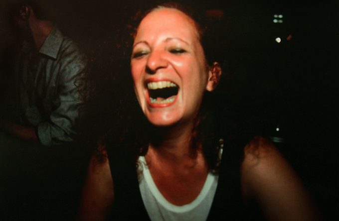 Nan Goldin,Self Portrait (laughing)