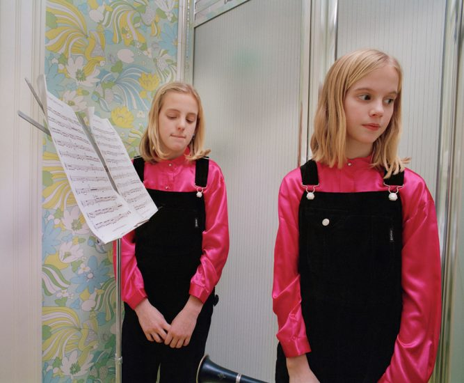 Blake Fitch, Girls in Bathroom