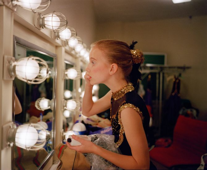 Blake Fitch, Kate Putting on Makeup