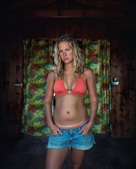 Blake Fitch, Katie in Orange Bikini