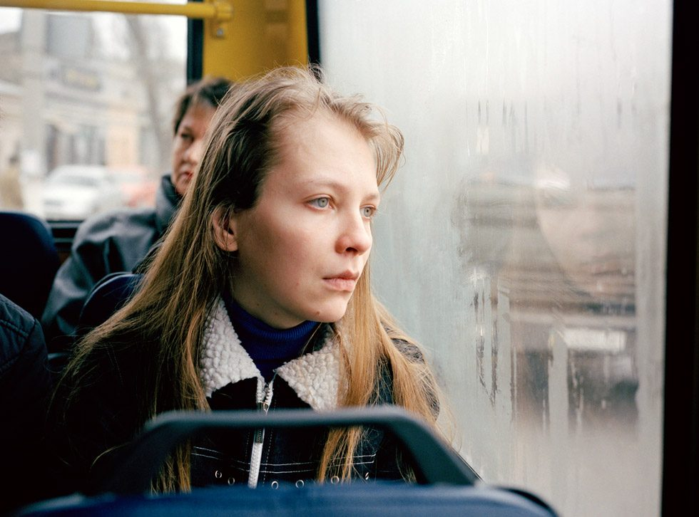 Untitled (Natascha on Bus)
