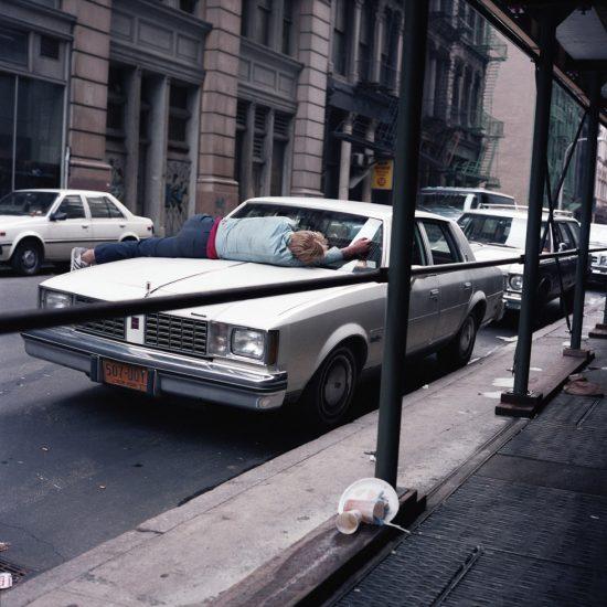 Janet Delany, Man on Car