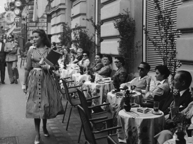 George Daniell, Daniell Scotti, Starlet on Via Veneto, Rome, Italy