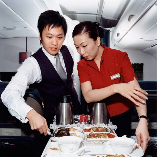 Brian Finke, Lam and Viola, Cathay Pacific Airways