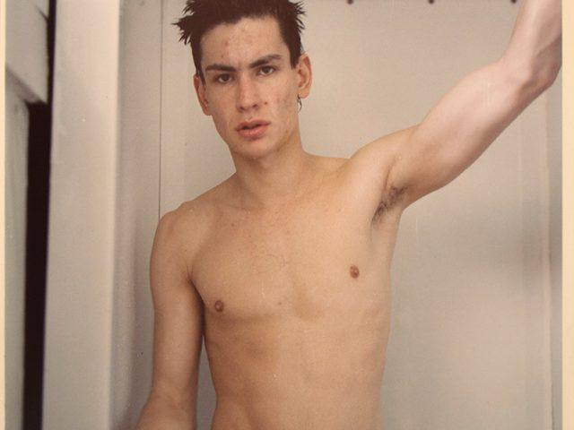 Mark Morrisroe, Mark Dirt, Self Portrait in the Shower