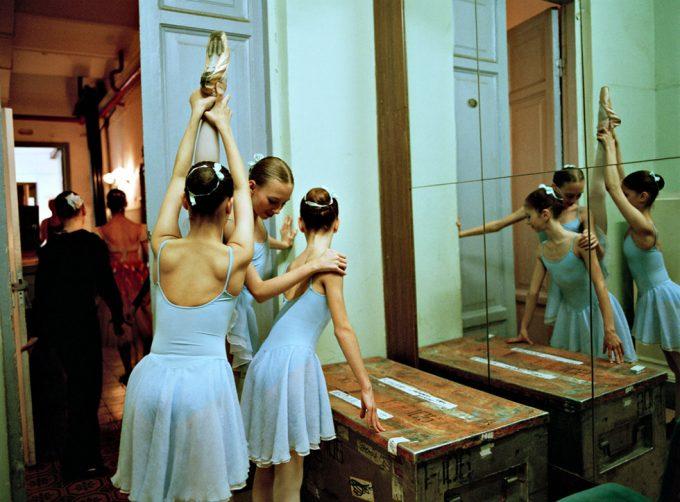 Rachel Papo, Three 2nd class girls, Ballet, St Petersburg, Russia