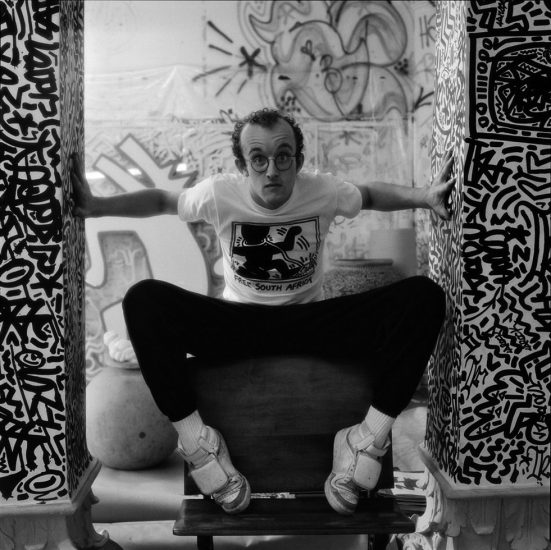 Jeannette Montgomery Barron, Keith Haring