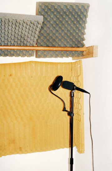 Michael Schmelling, Microphone