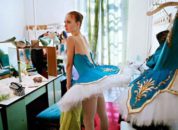Backstage at the Mariinsky Theater, Ballet, St Petersburg, Russia