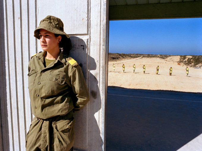 Rachel Papo, Guarding the entrance, Nitzanim, Israel