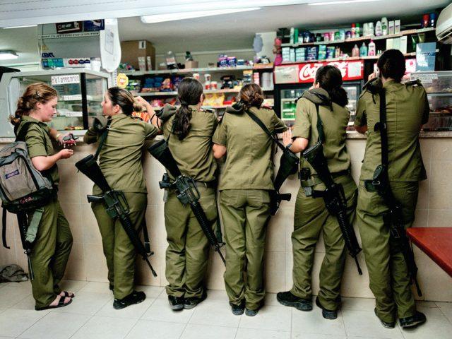 Rachel Papo, Military kiosk counter, Shaare Avraham, Israel