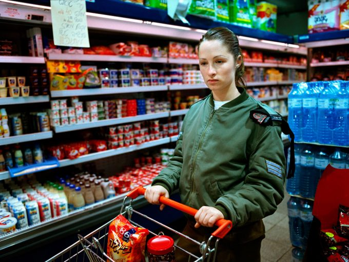 Rachel Papo, Shopping for groceries, Tel Aviv, Israel