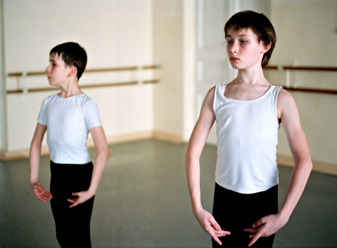 Rachel Papo, Two 2nd class boys, Ballet, St Petersburg, Russia
