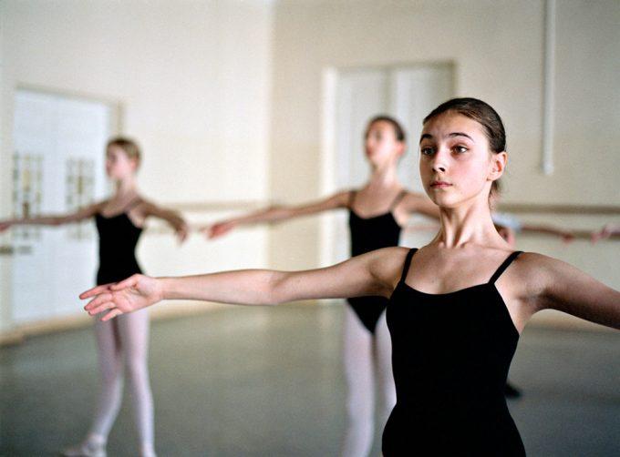 Rachel Papo, Ballet class, St Petersburg, Russia