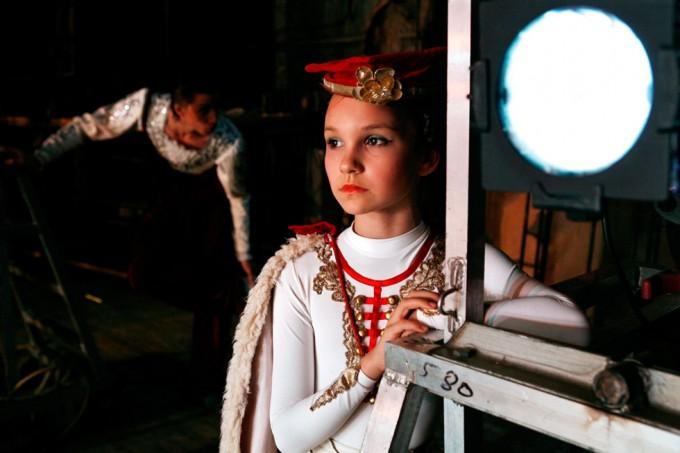 Rachel Papo, Yana backstage, Ballet, St Petersburg, Russia