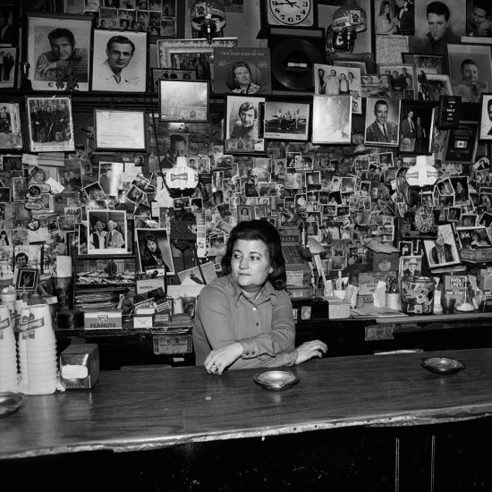 Henry Horenstein, Wanda Behind the Bar, Tootsie's Orchid Lounge