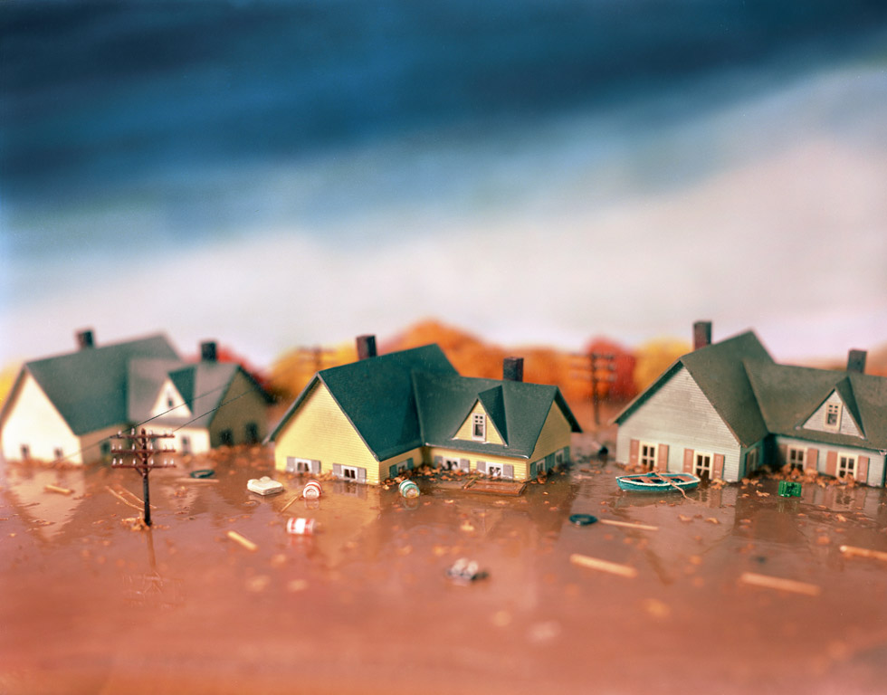 "Lori Nix's work included in ""The Perfect Storm"" at Julie Saul Gallery"
