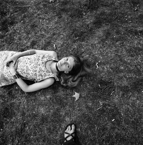 Francis, Jamaica Plain, MA, In the Grass