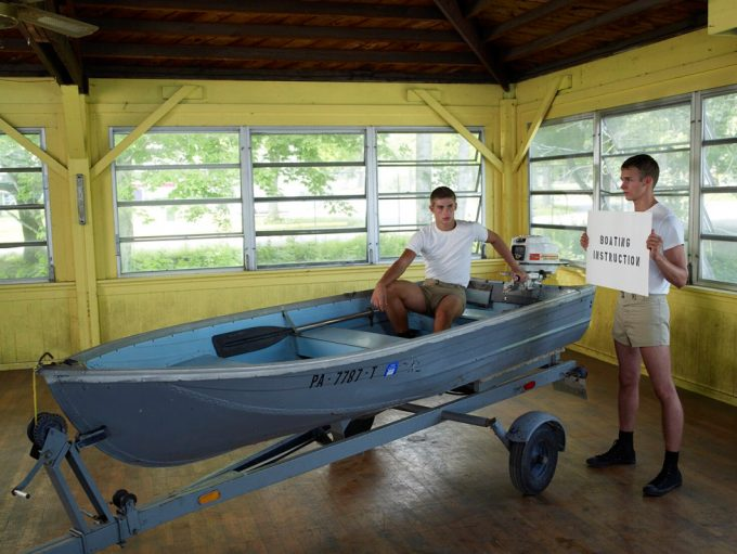 Luke Smalley, Boating Instruction