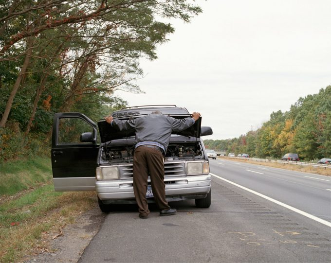 Amy Stein, Man, Route 17, New York