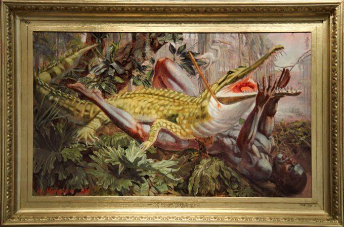 Mark Beard, Hippolyte-Alexandre Michallon, Jeune Homme Attaque Par un Alligator
