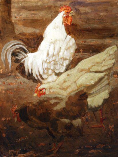 Mark Beard, Hippolyte-Alexandre Michallon, Coq Domestique et Poules