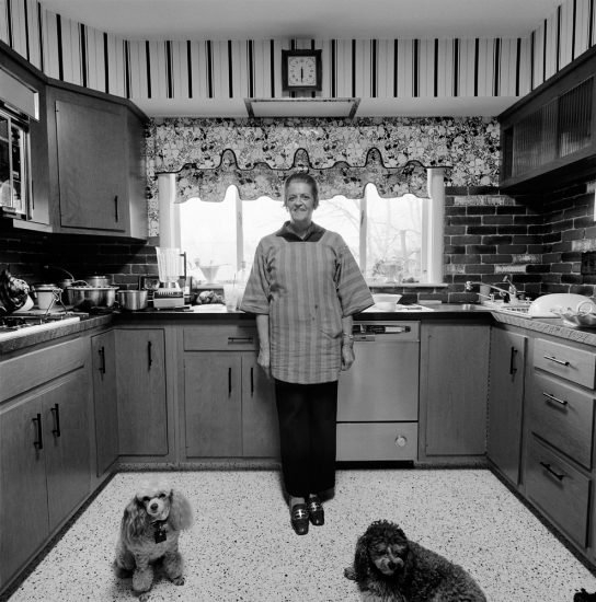 Mom, Chammie, and Studley, Kitchen