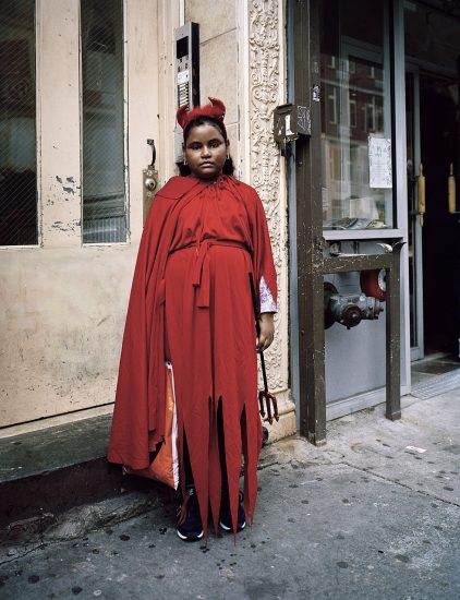 Amy Stein, Untitled (Red Devil)