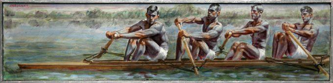 Mark Beard, Bruce Sargeant, Four Rowers 2