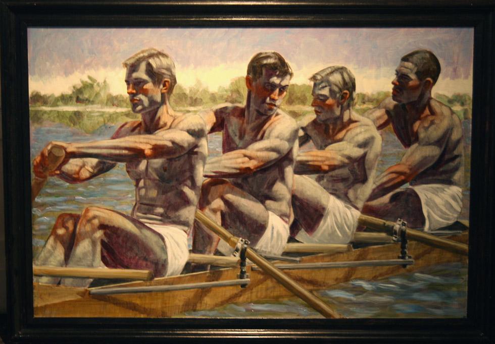Mark Beard, Bruce Sargeant, Rowing Team | ClampArt