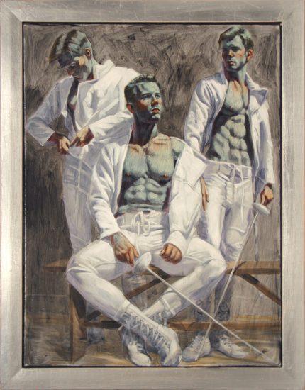 Mark Beard, Bruce Sargeant, Three Fencers