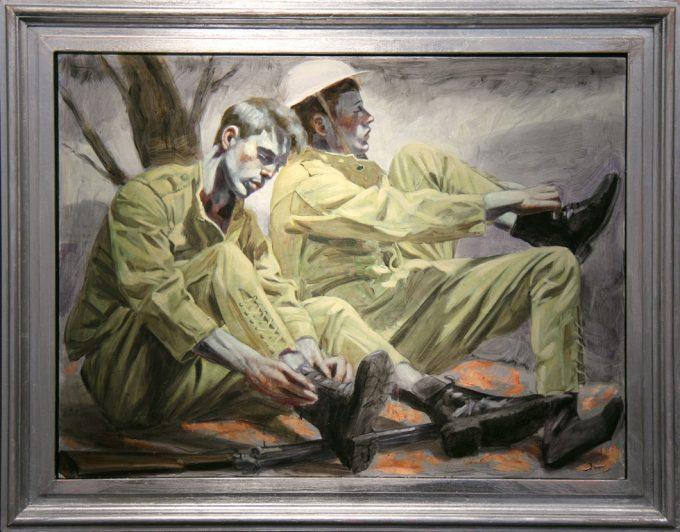 Mark Beard, Bruce Sargeant, Two Soldiers