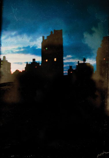 Marc Yankus, Sheridan Square at Night