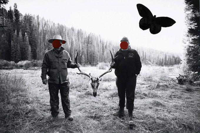 Stan Gaz, Hunters with Elk Antlers