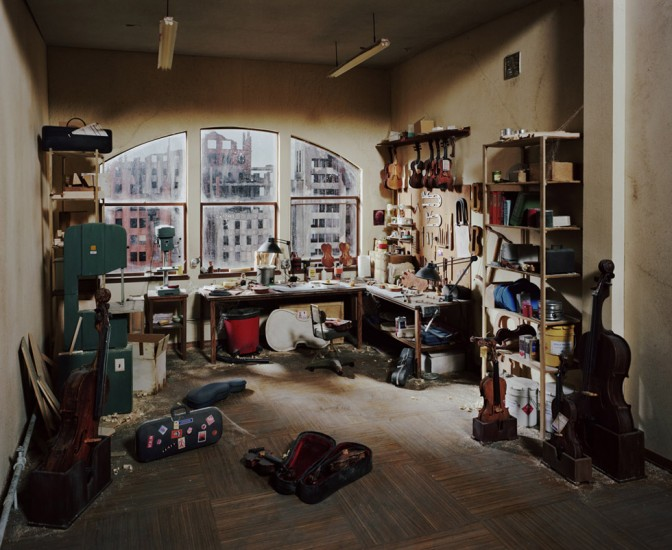 Lori Nix, Violin Repair Shop