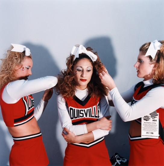 Brian Finke, Untitled (Cheerleading 15)