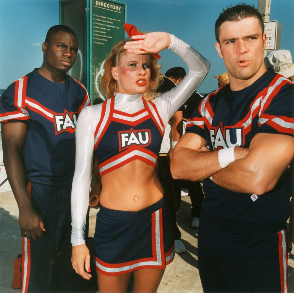 2-4-6-8: American Cheerleaders and Football Players | ClampArt