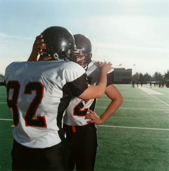 Brian Finke, Untitled (Football 33)
