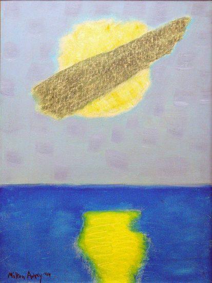 Milton Avery, Cloud Over Sun
