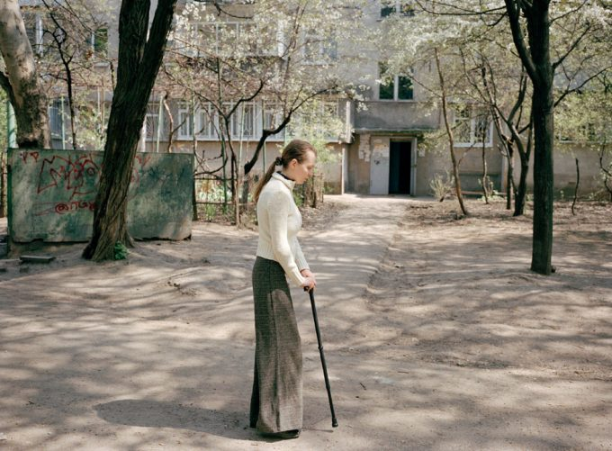 Andrea Diefenbach, Natascha with Cane