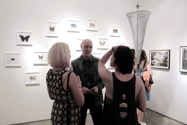 """Opening reception for """"Stan Gaz: Ensnared"""""""