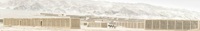 Stephen Wilkes, Grape Sheds, Turpan, China