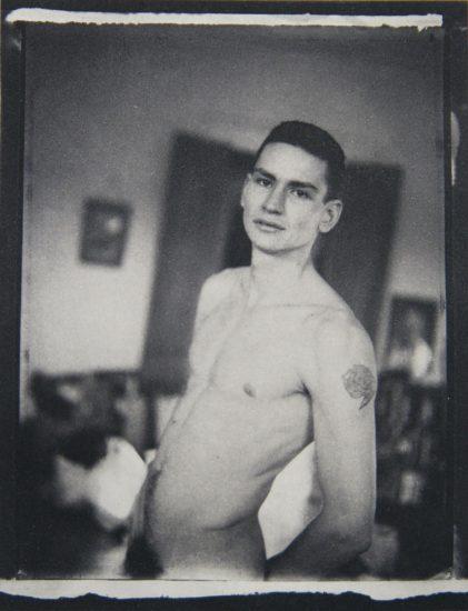 Mark Morrisroe, Self Portrait Photogravure