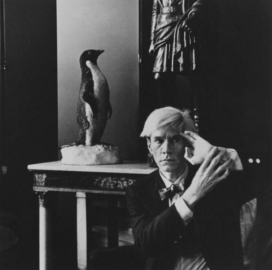 Hans Namuth, Andy Warhol