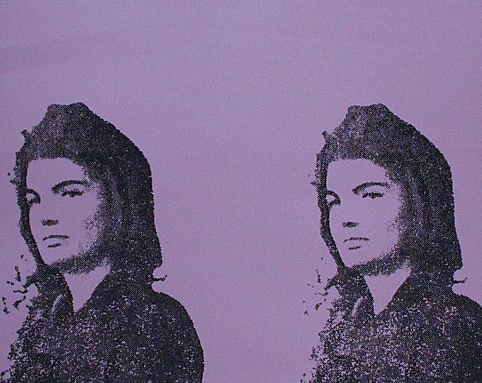 Andy Warhol, Jackie II, Screenprint