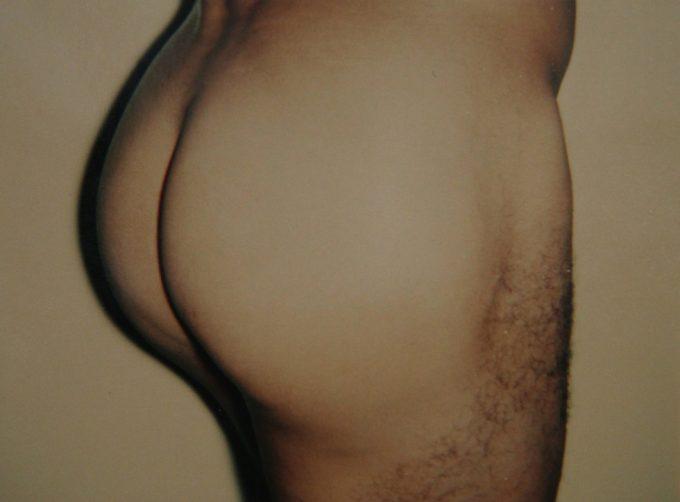 Andy Warhol, Nude Model Male, Polaroid