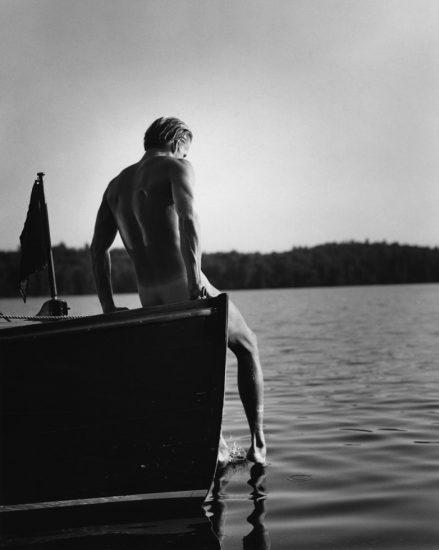 Bruce Weber, Tyke on the Work Boat in Lower St. Regis