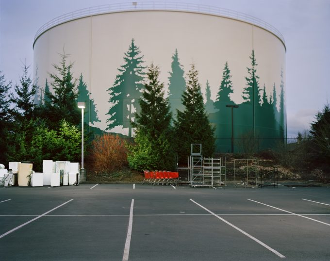 Anna Beeke, Parking Lot (near Everett, Washington)