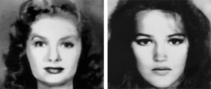 Nancy Burson, First and Second Beauty Composites
